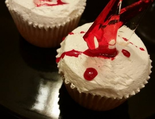 Glass Shard Cupcakes