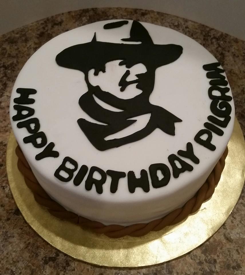 John Wayne Cake Zoes Cakes And Cupcakes