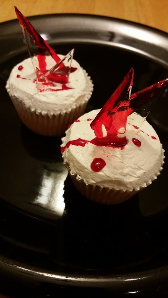 Glass Shard Cupcakes